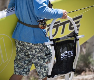 BOTE Tackle Web on Tackle Rac