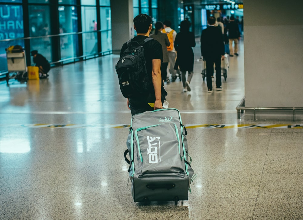 Aero Bags meet the requirements for checked luggage on most airlines.