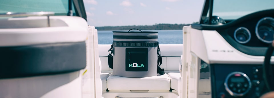 KULA 5 Softy cooler is the perfect companion for you, your drinks, and your boat.