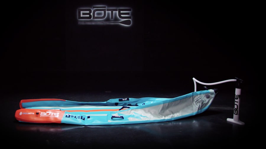 How to Fold Your DEUS Aero Inflatable Kayak