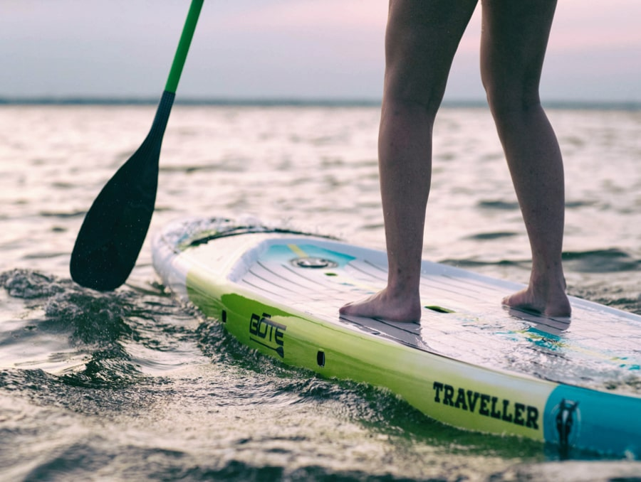 The traveller paddle board