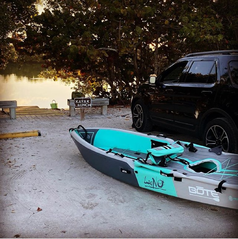 LONO Aero Inflatable Kayak vs Rotomolded Kayaks