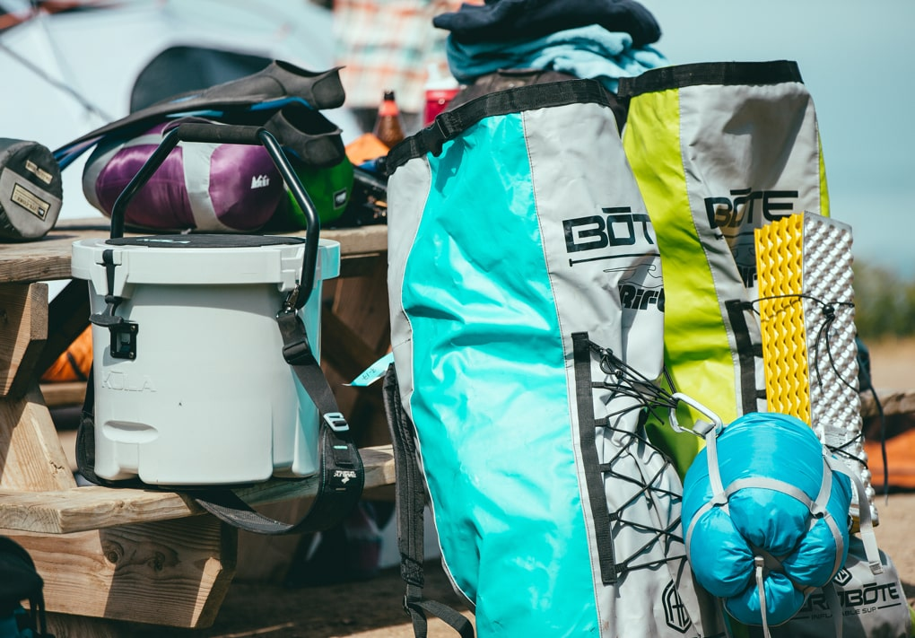 Packs up tightly with all your camping gear