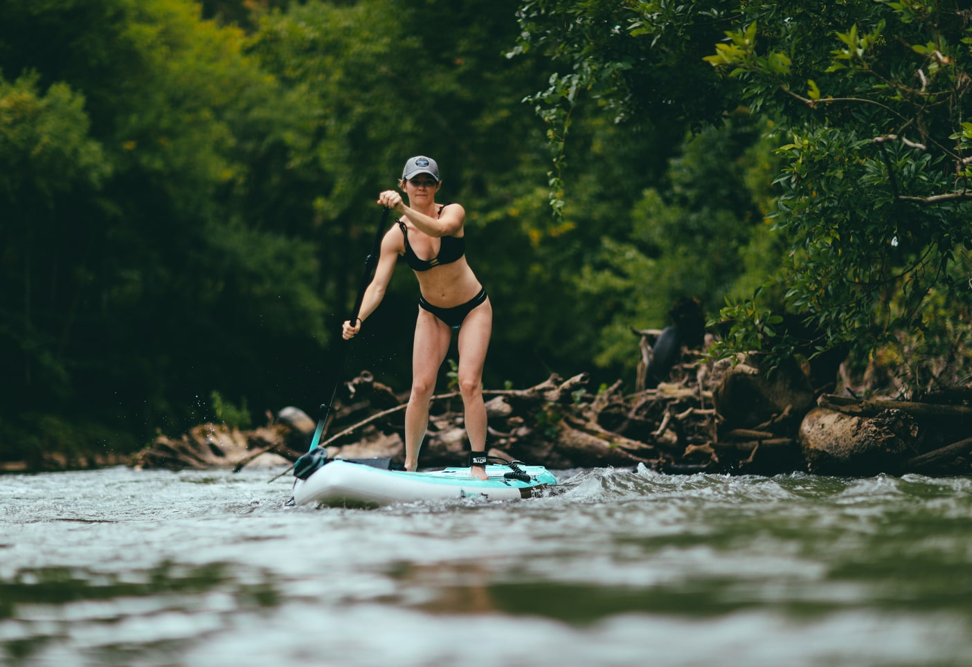 Paddling down a river just outside of town is an invigorating way to get back to nature