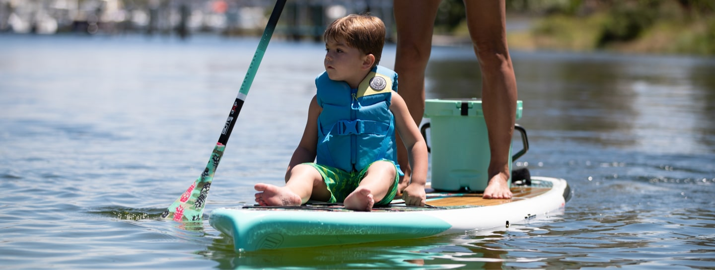 Rackhams are the perfect choice for when young paddlers prefer mom or dad to do the work while they hitch a ride.