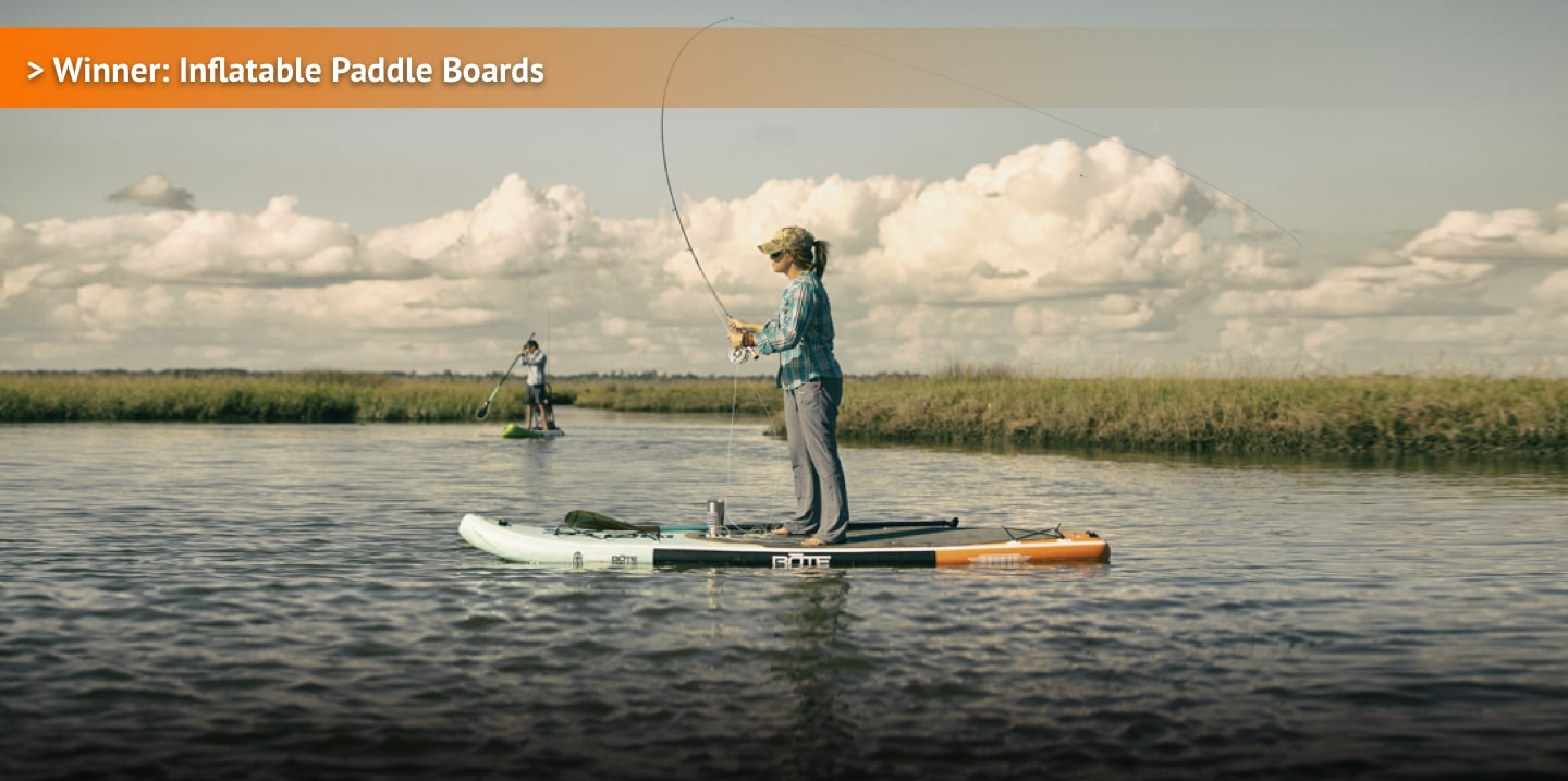 Winner: Inflatable Paddle Boards