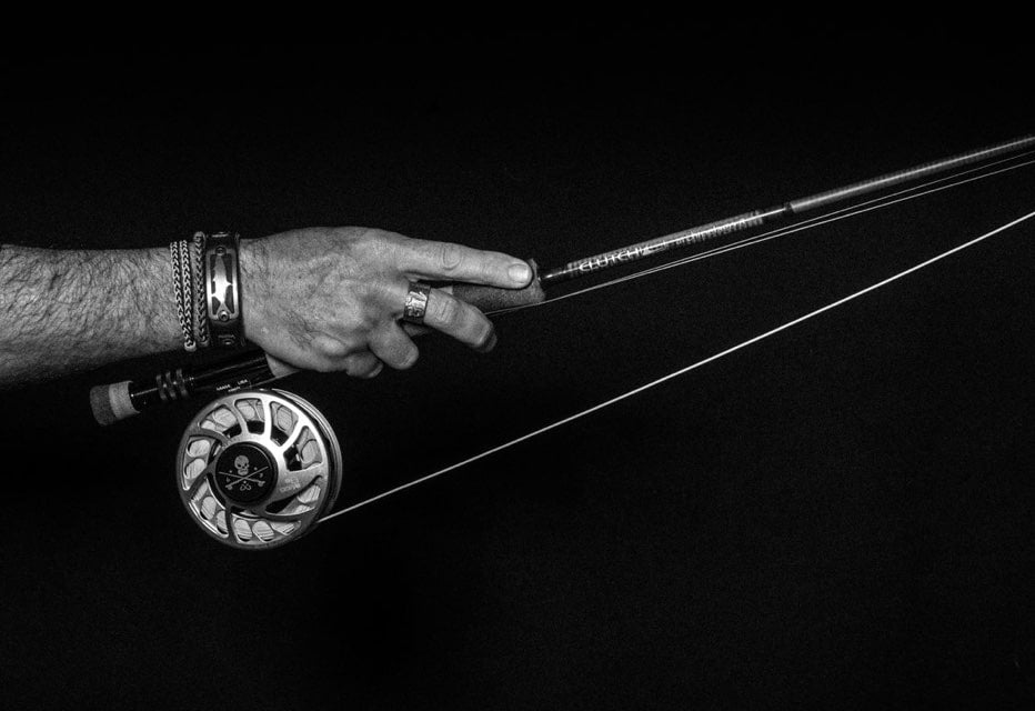 Fishing reel and rod