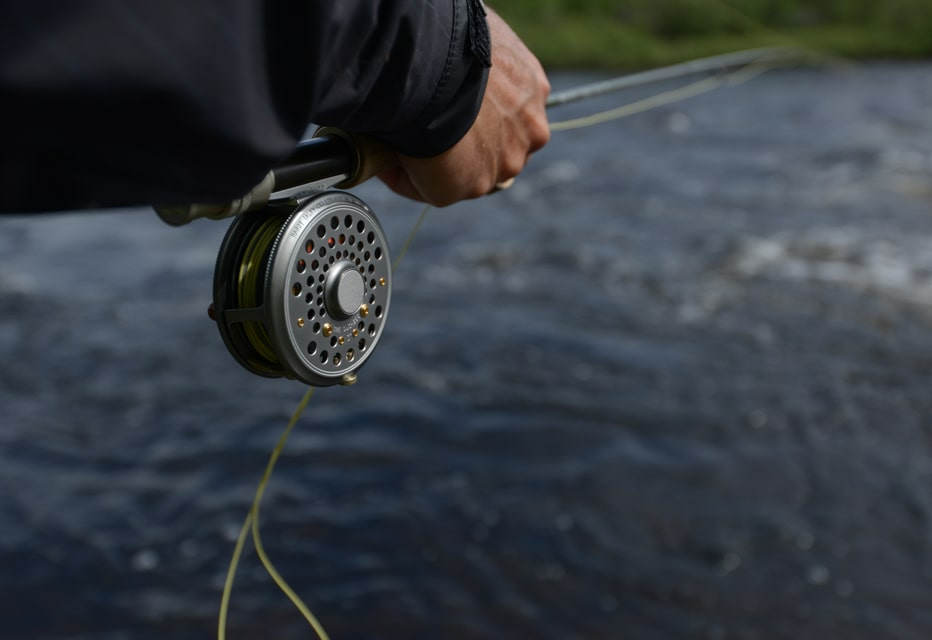 Hardy fly fishing reels, based out of Alnwick, England