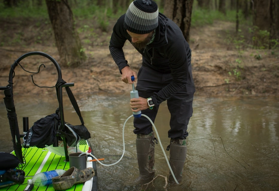 Pumping from the Apalachicola River for clean water