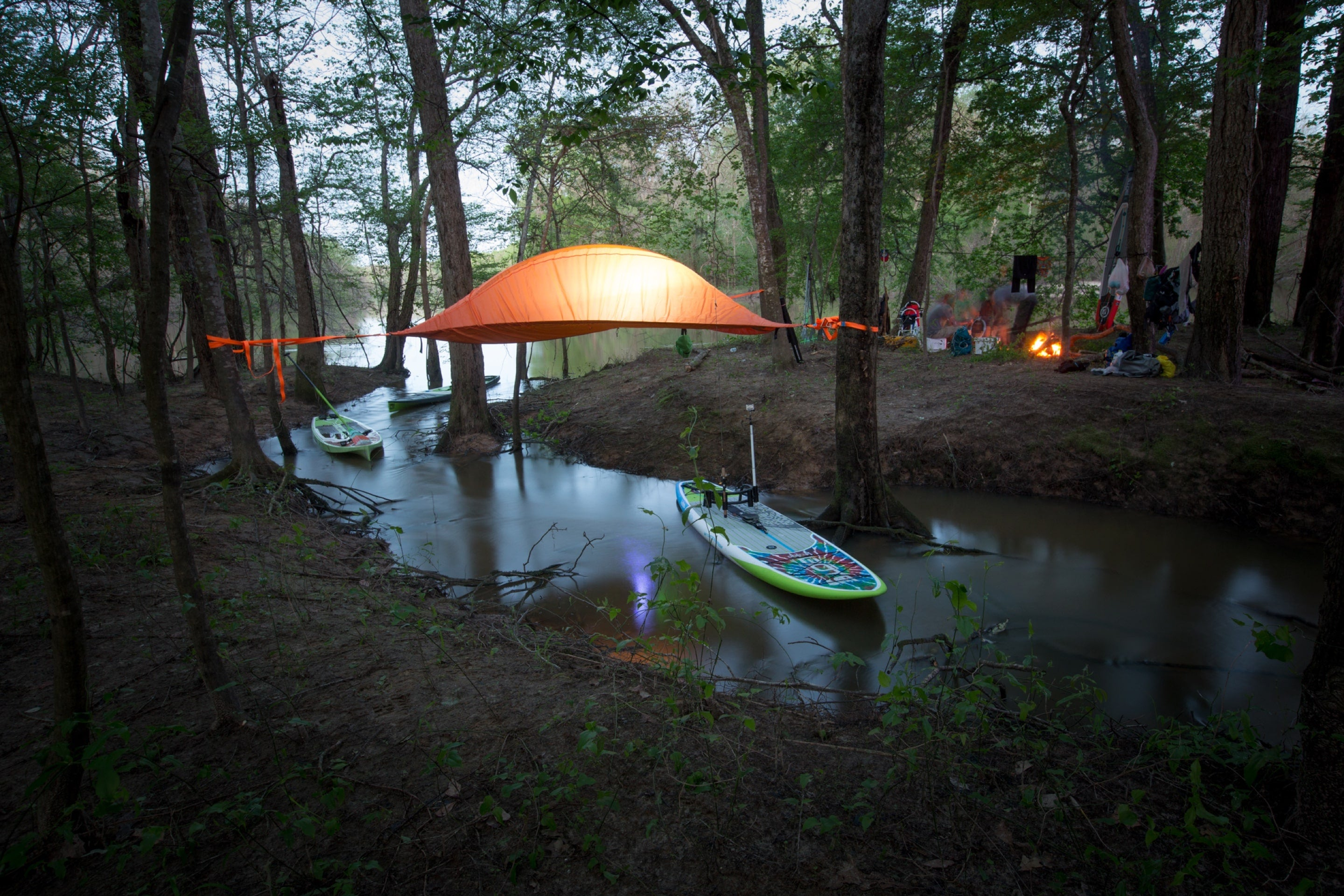 Camping along the Apalachicola River