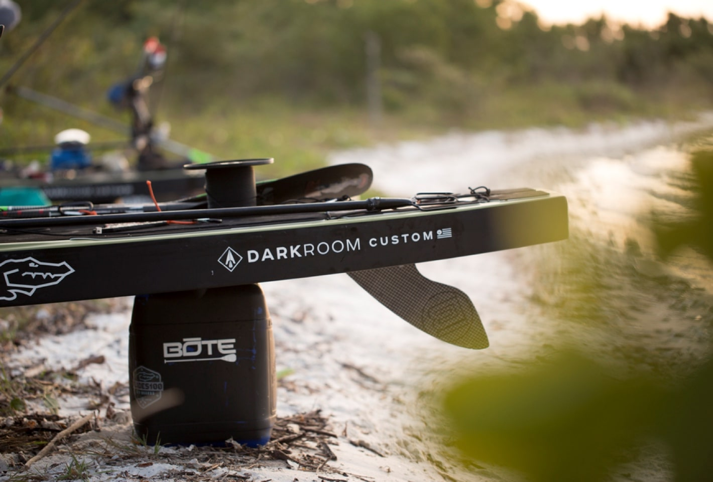 BOTE darkroom custom paddle board