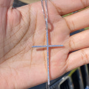 +SOLANA CROSS NECKLACE