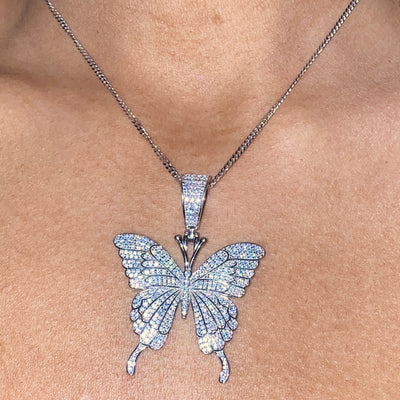 +MAIKO BUTTERFLY NECKLACE