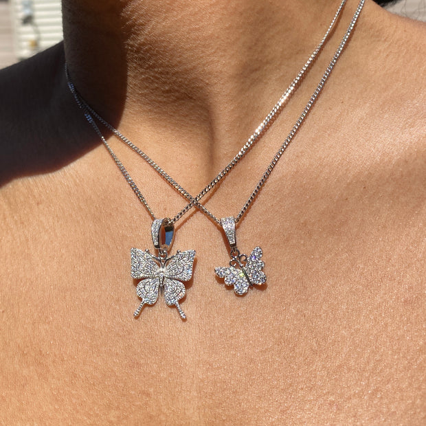 +CHLOE BUTTERFLY NECKLACE