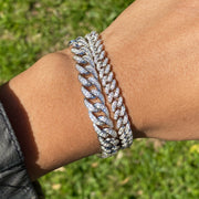 +MAIA CRYSTAL CHAIN BRACELET (PRE-ORDER SHIPS JULY 7th)