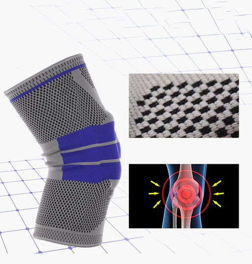 Nylon Silicon Knee Support