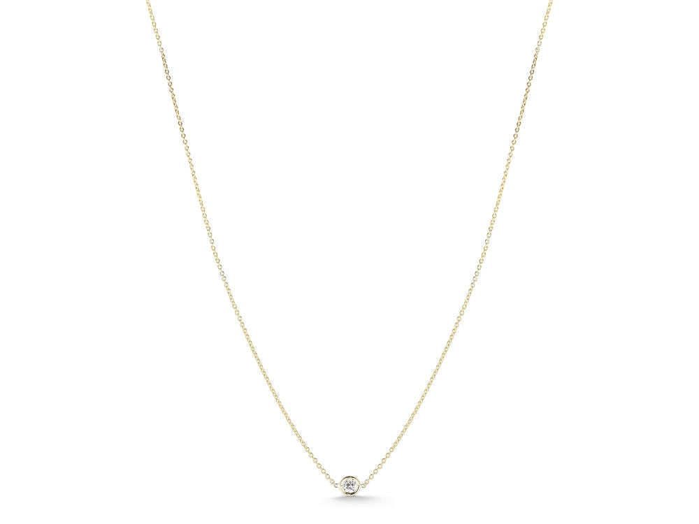 Diamond Bezel Pendant