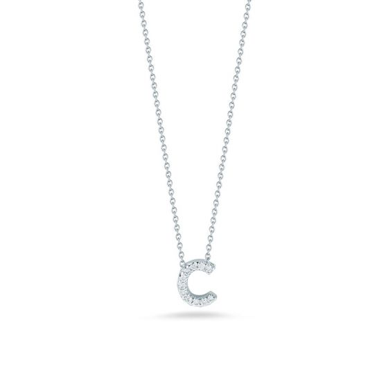 "Diamond ""C"" Pendant"