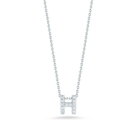"Diamond ""H"" Pendant"
