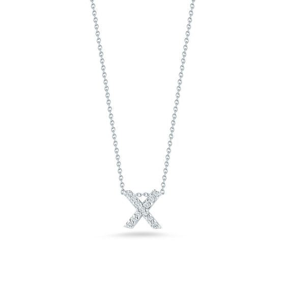 "Diamond ""X"" Pendant"