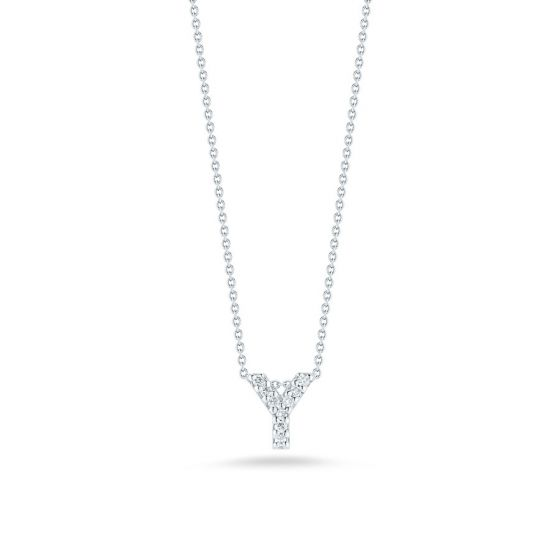 "Diamond ""Y"" Pendant"