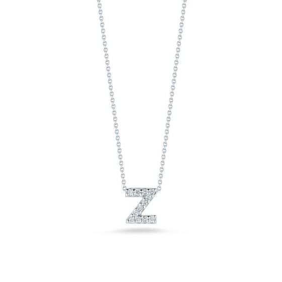 "Diamond ""Z"" Pendant"