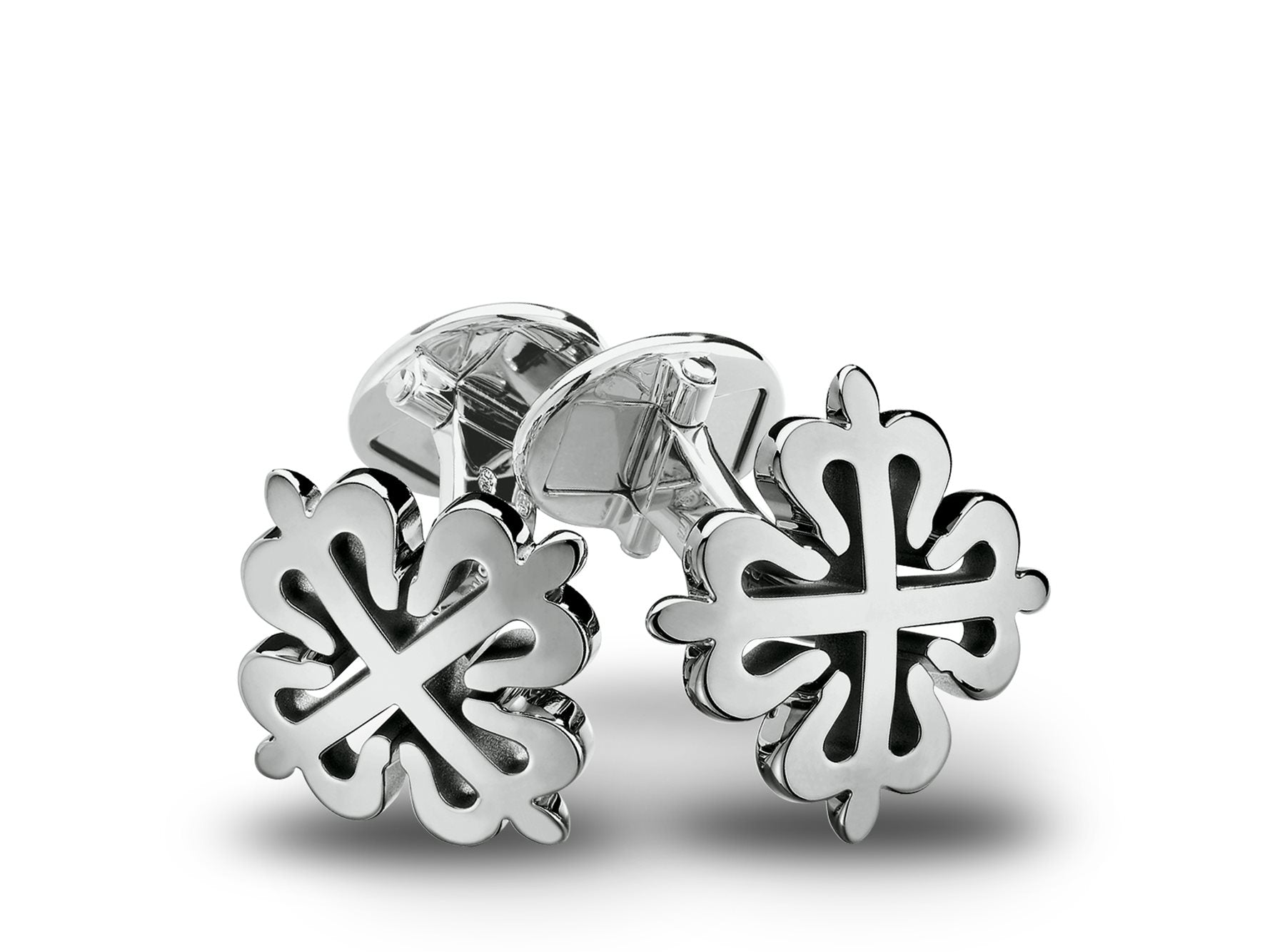 White Gold Calatrava Cuff Links