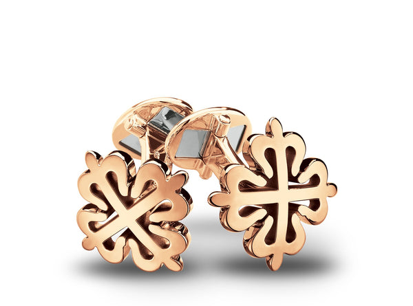 Rose Gold Calatrava Cuff Links