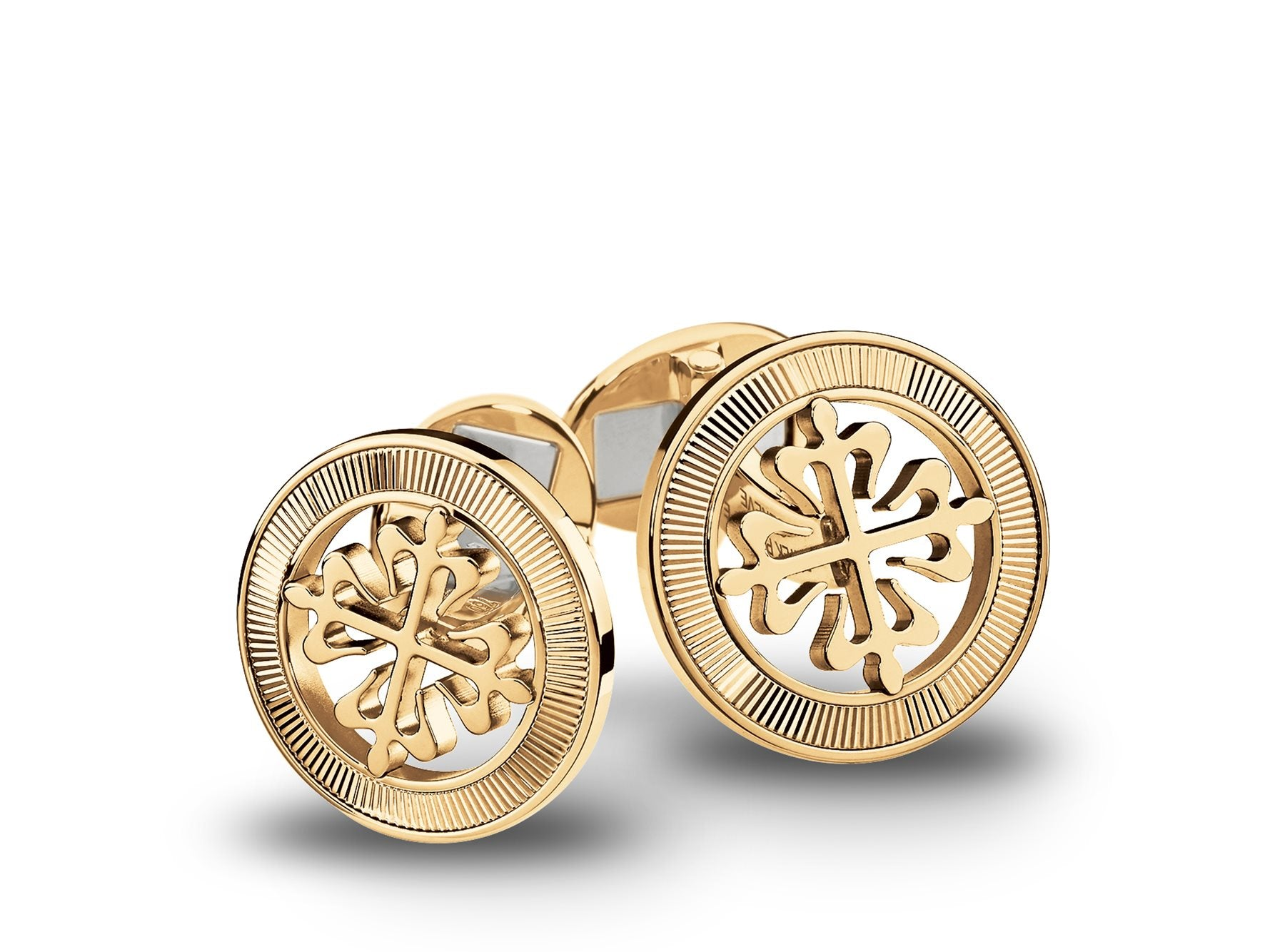Gold Calatrava Cross Cuff Links Cross Decoration