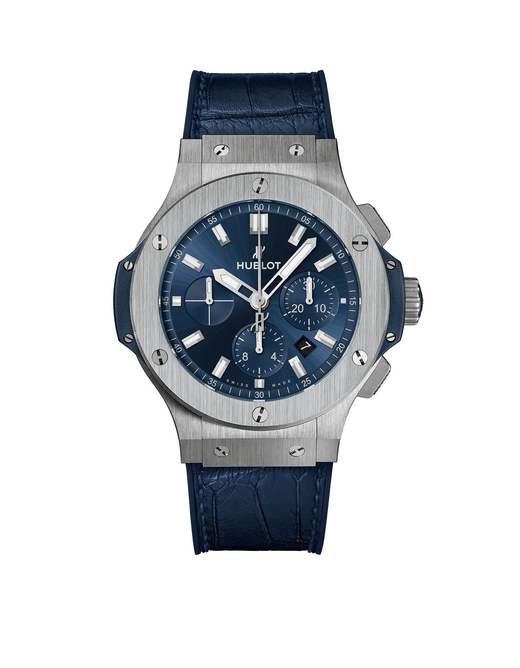 Big Bang Chronograph Blue Steel