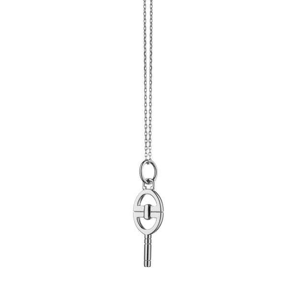 "Mini ""Bridle"" Key Necklace"