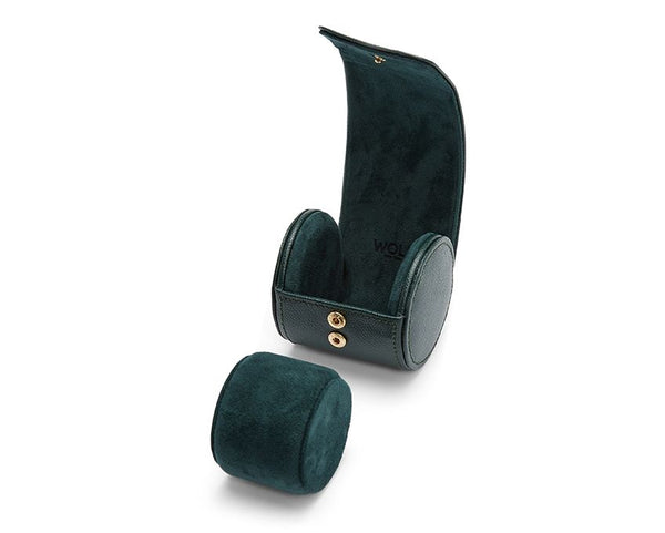 British Racing Green Single Watch Roll