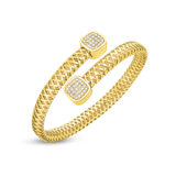 Primavera Flexible Diamond Wrap Bangle