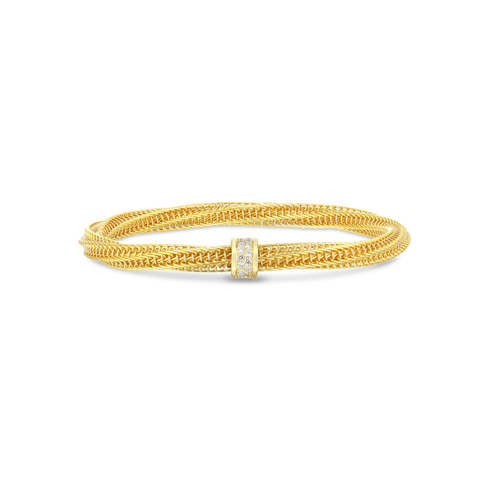 Primavera Diamond Slip-On Bracelet