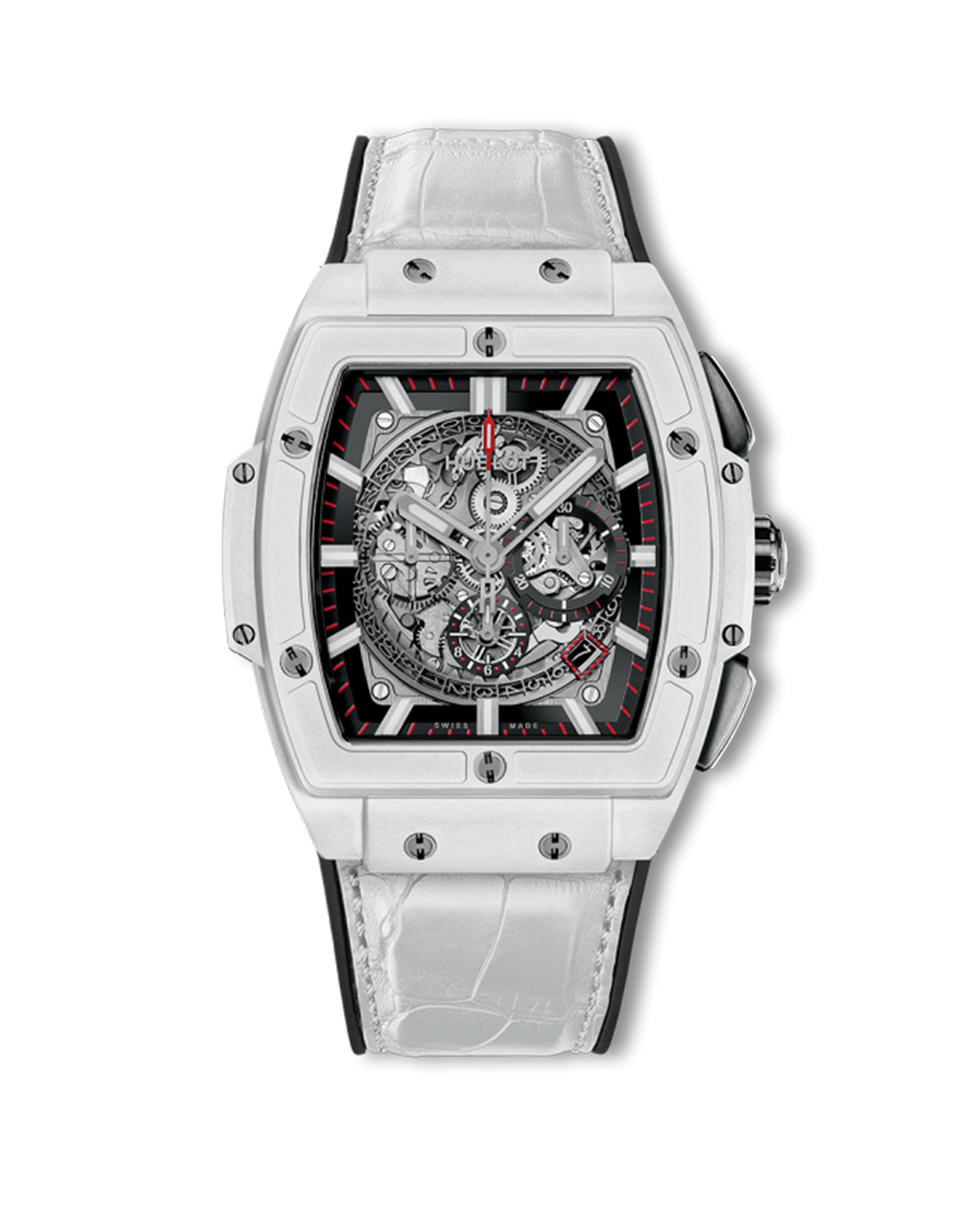 Spirit of Big Bang White Ceramic Chronograph