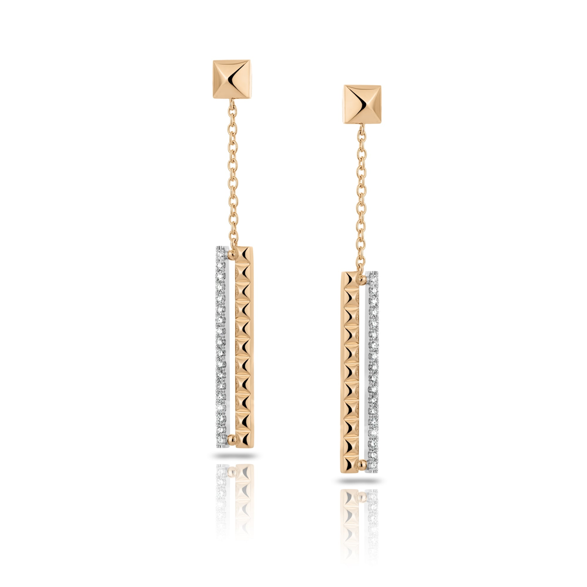 Cubini Diamond Dangle Earrings