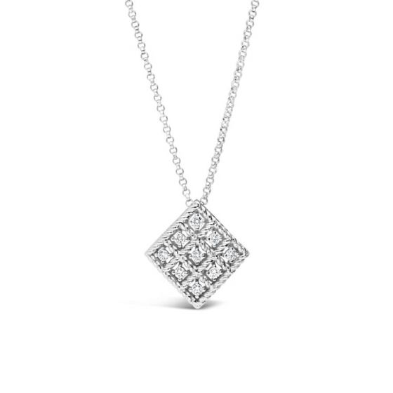 Roman Barocco Diamond Necklace