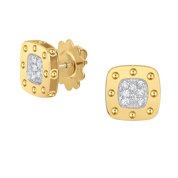 Pois Moi Stud Earrings with Diamonds