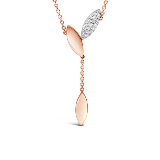 Petal Diamond Pendant