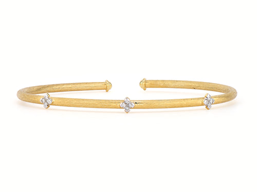 Provence Quad And Trio Flexible Brushed Bangle