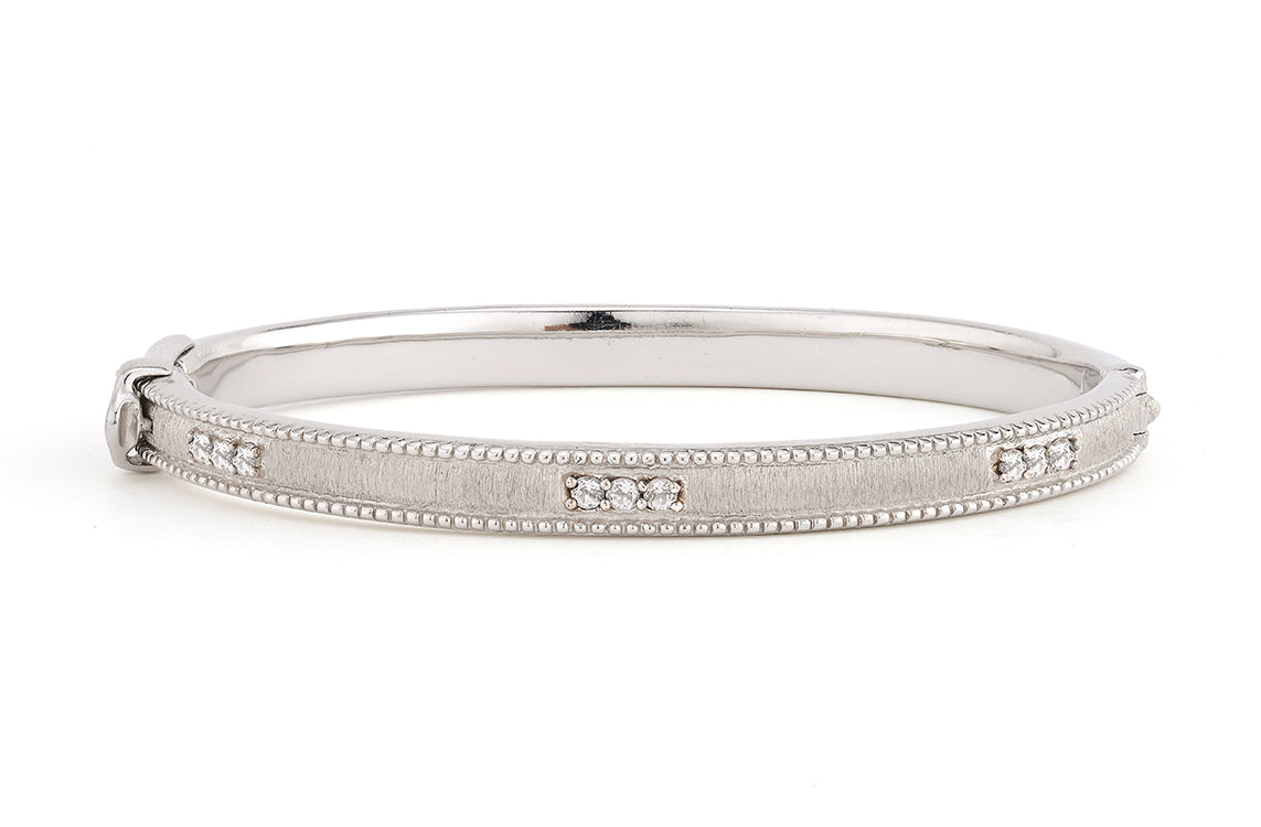 Silver Simple Lisse Bangle