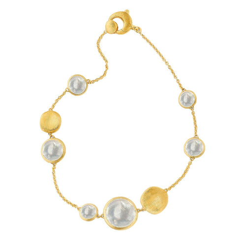 Jaipur 18K Yellow Gold Mother of Pearl Bracelet