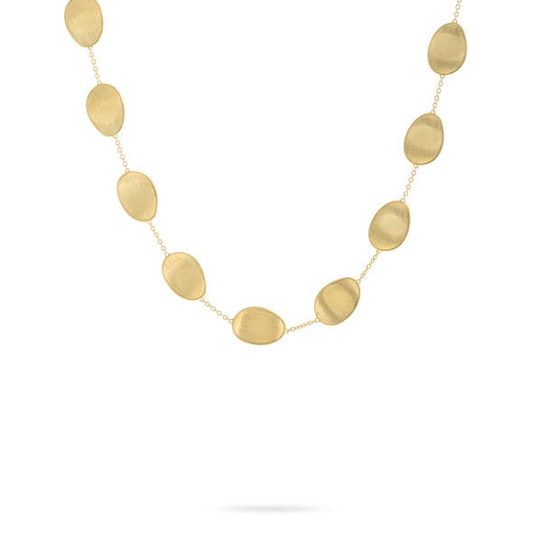 Lunaria 18K Yellow Gold Short Necklace