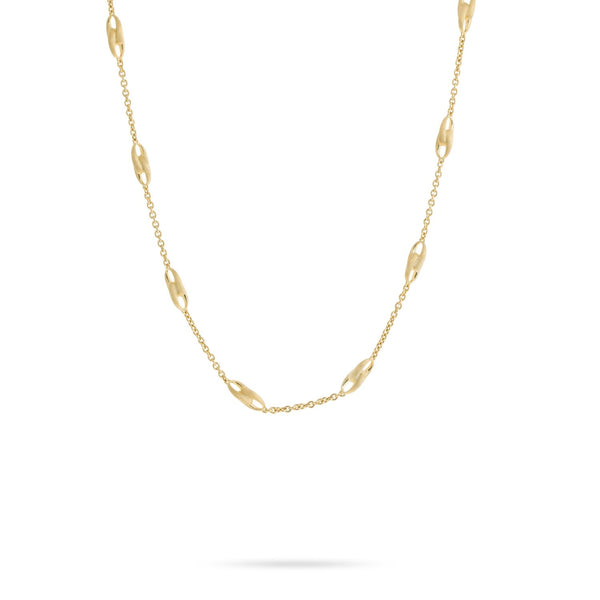 Lucia 18K Yellow Gold Link Necklace