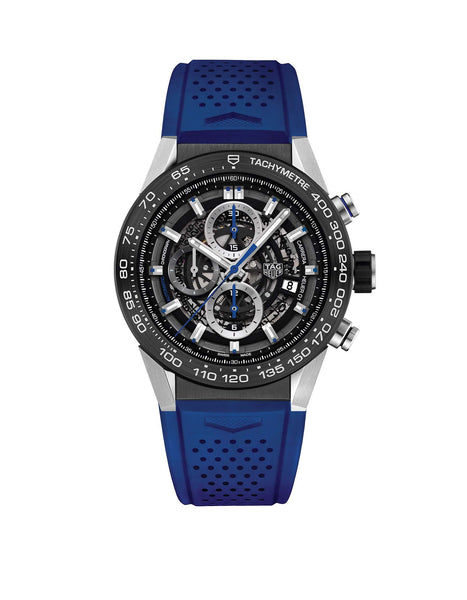 Carrera Calibre Heuer 01 - Blue Touch Edition