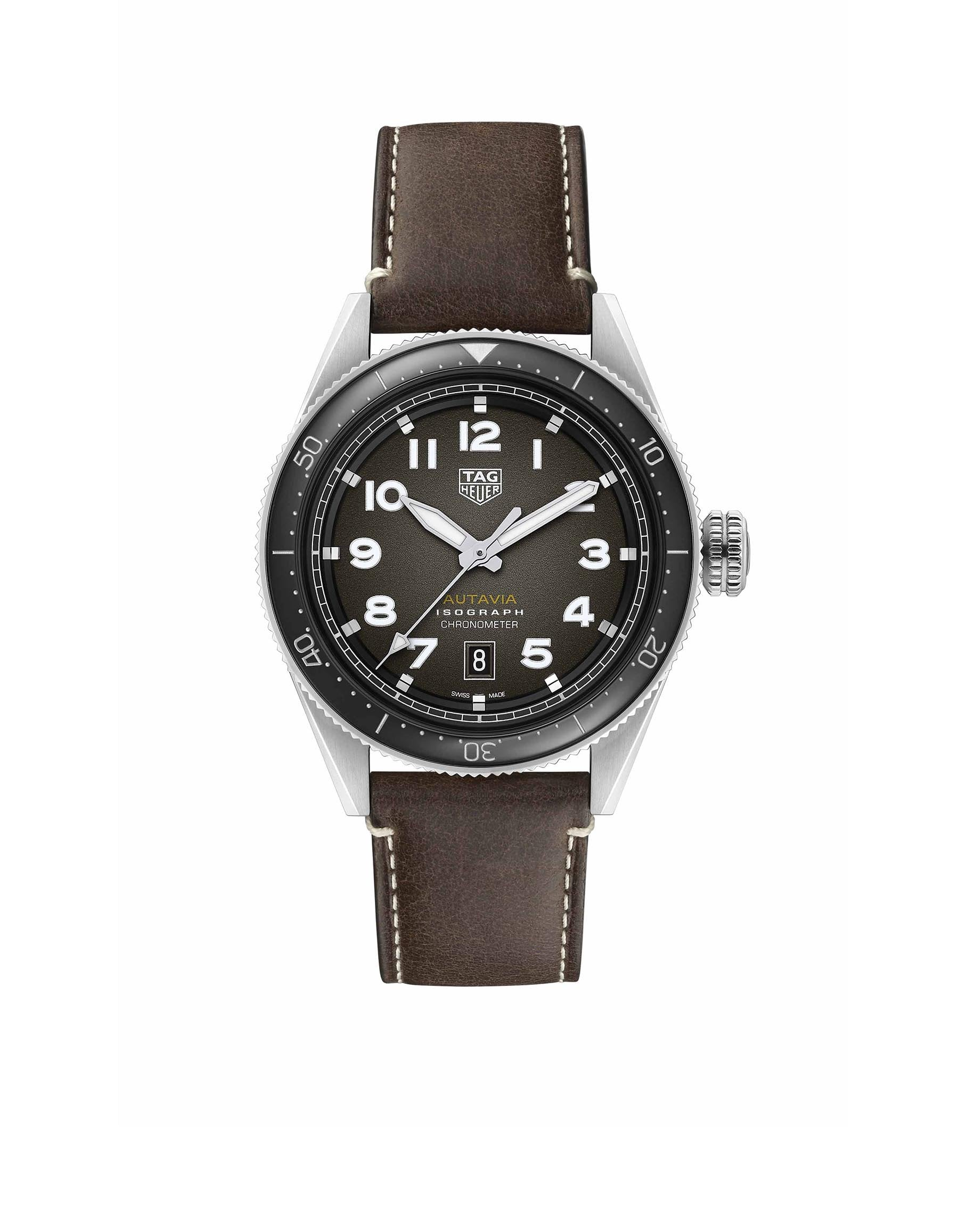 Heritage Autavia Calibre 5 COSC Watch