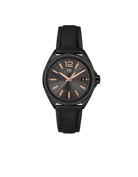 Formula 1 Lady Black & Rose Gold Quartz Watch