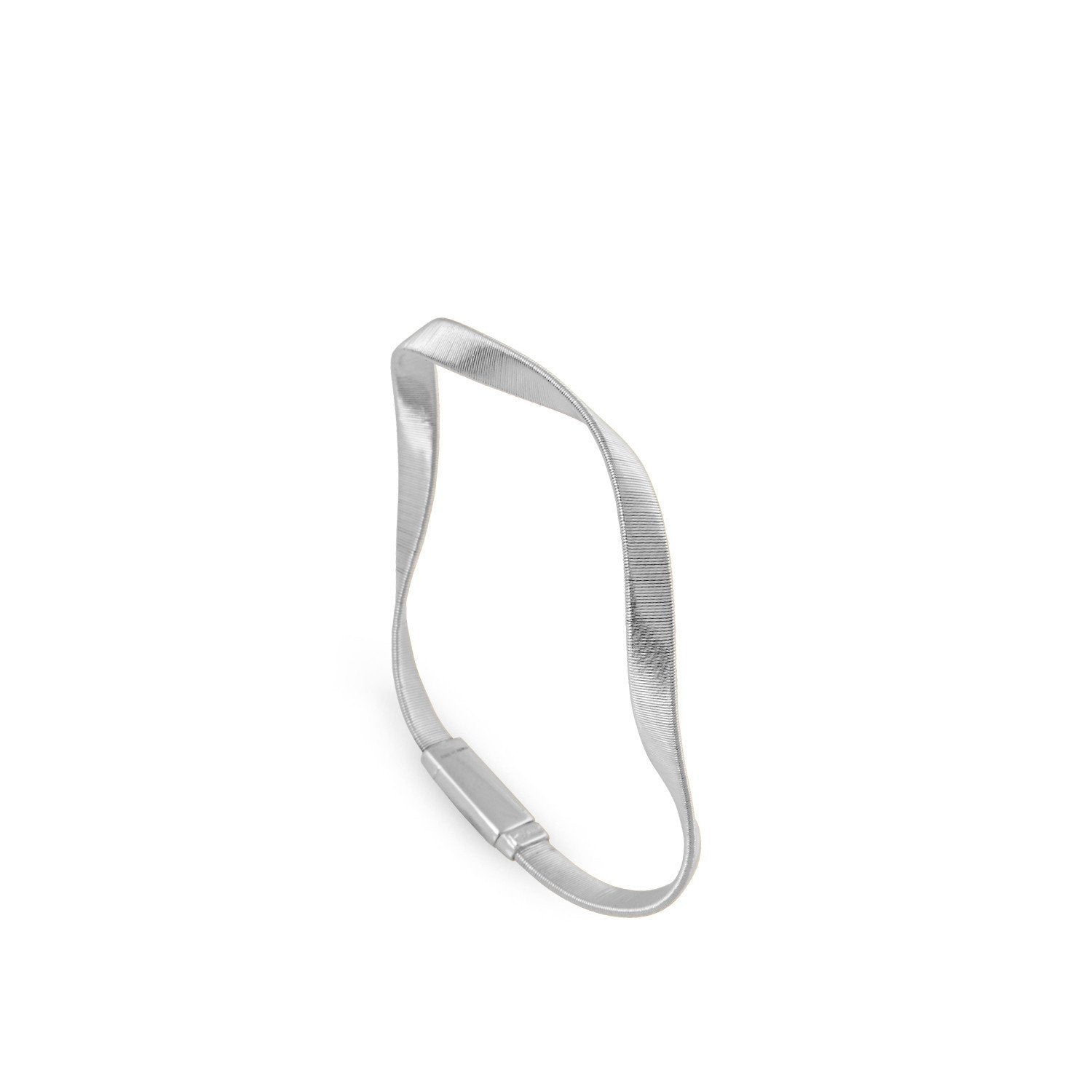 Marrakech Supreme White Gold Bangle