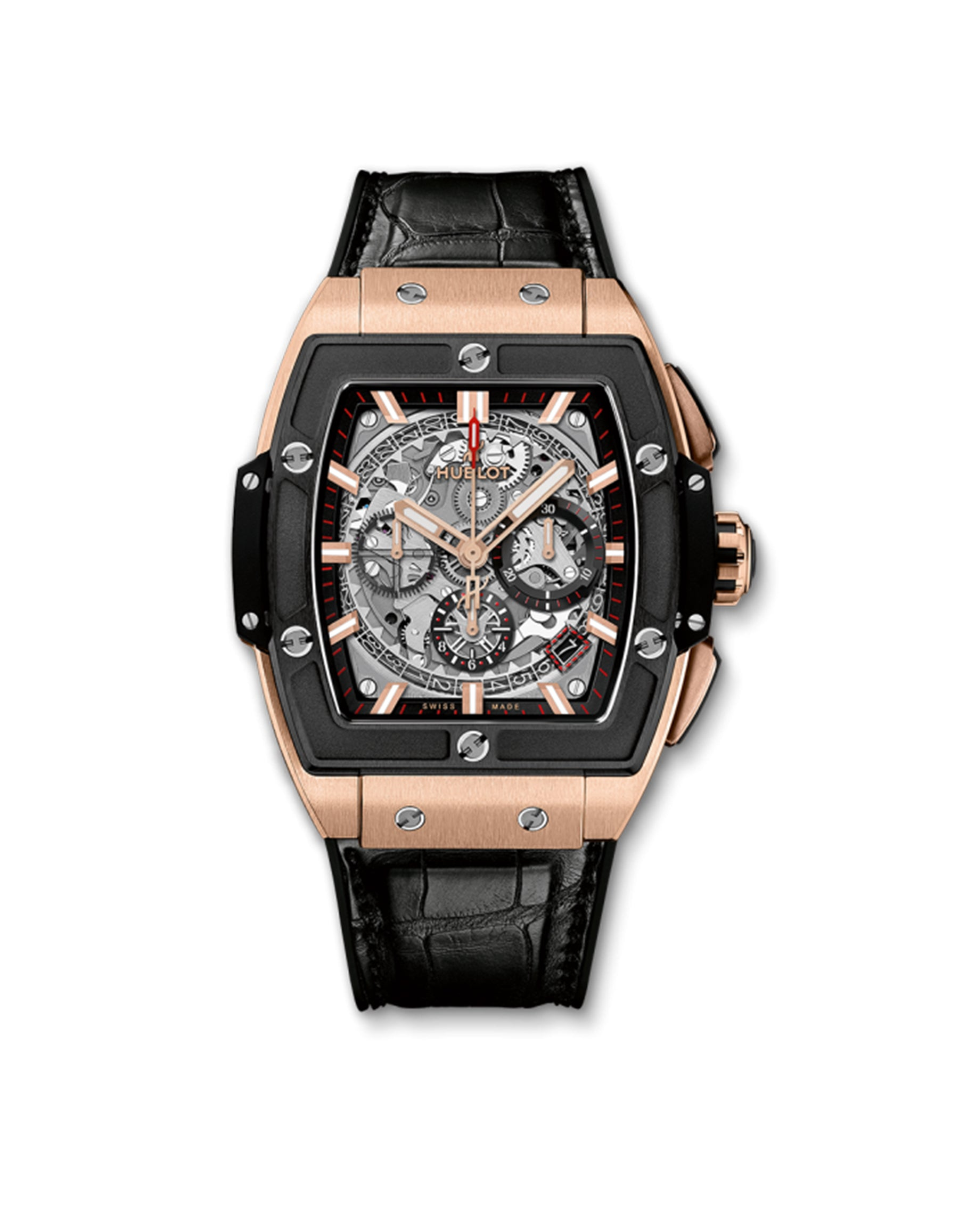Spirit of Big Bang King Gold Ceramic Chronograph