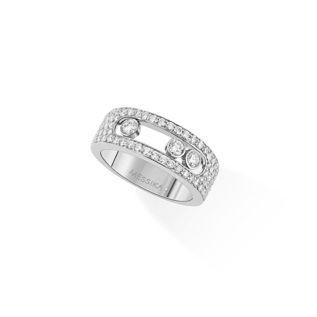Move Pavé Small Ring